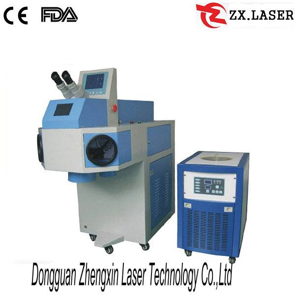CE approved Jewelry laser spot welding machine for gold repair