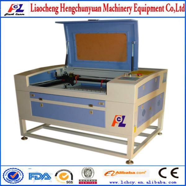 long life high precision 1300*900mm 80W laser cutting machine