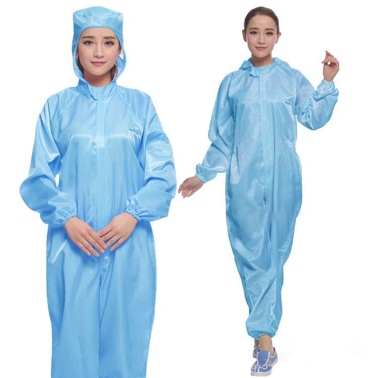 Good quality Anti-static clothes coverall ESD garments esd garments in China