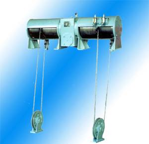 Double Hook Wirerope Hoist