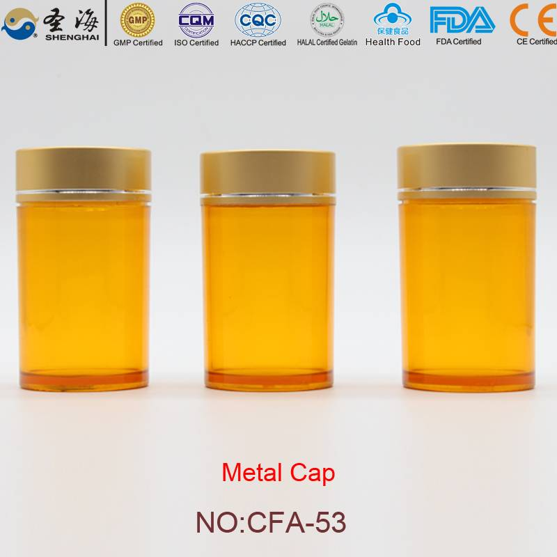 100ml Factory Direct Sale Health Supplement Packaging Bottle for Medicine and Pill