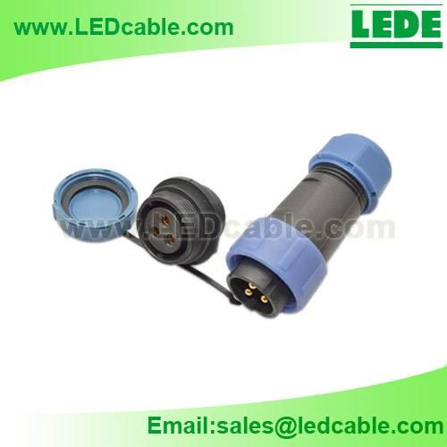 IP68 Panel-Mounting Waterproof Connector