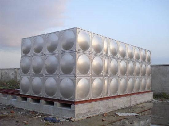 New design water tank made in China Dezhou water storage tank stainless sheet water tank