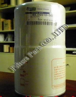 65.05510-5020 doosan oil filter