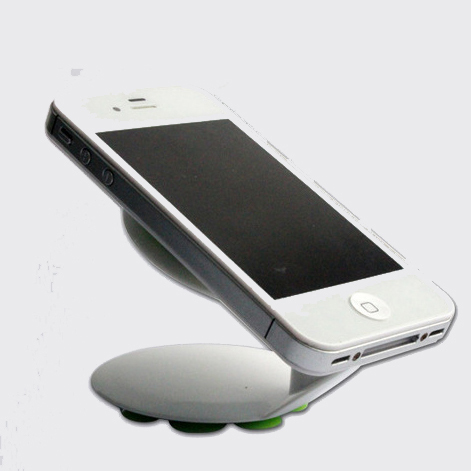 Mini dual sucker base phone holder
