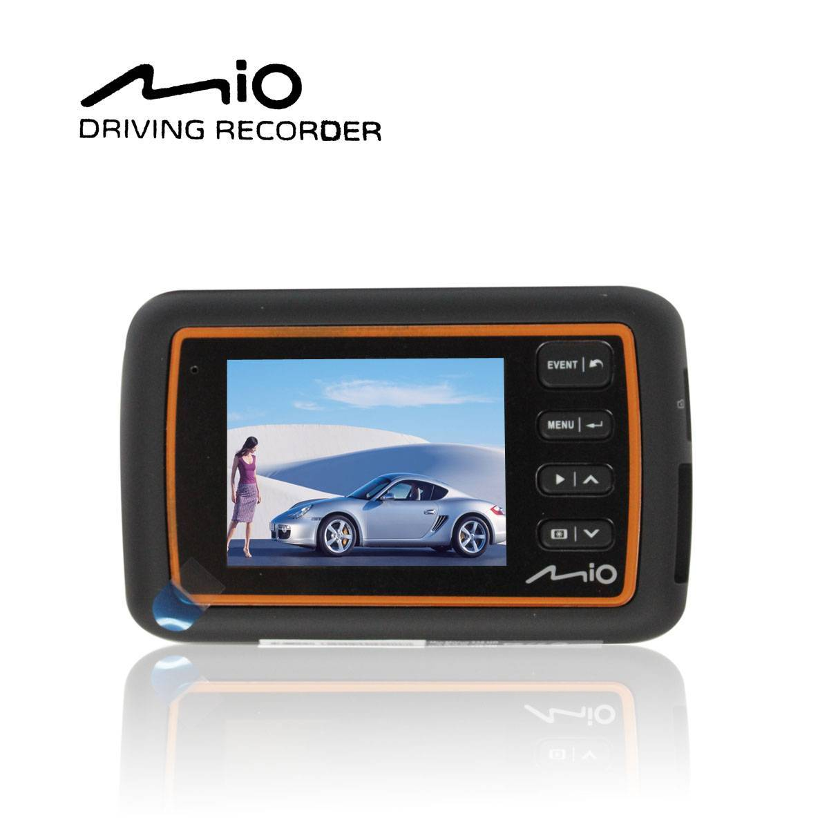 MIO238HD high tech camcorder with G-sensor detecition, Collision detection, Event data protection