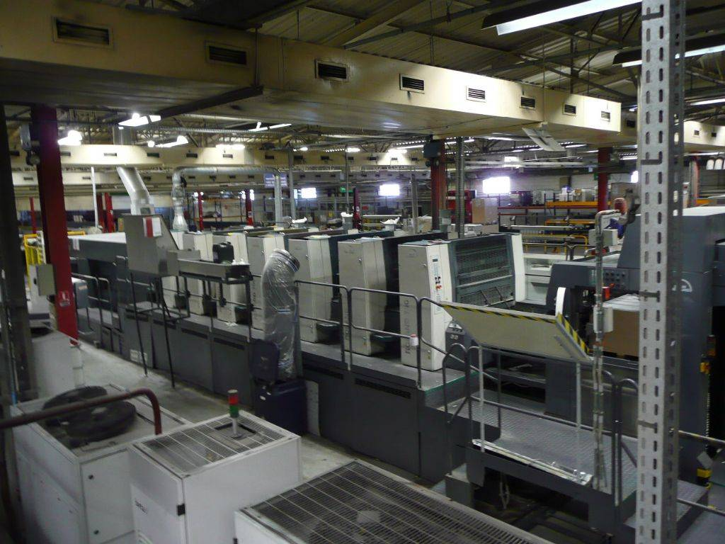 Used ROLAND 706/3B + LV (2004) sheetfed offset printing press
