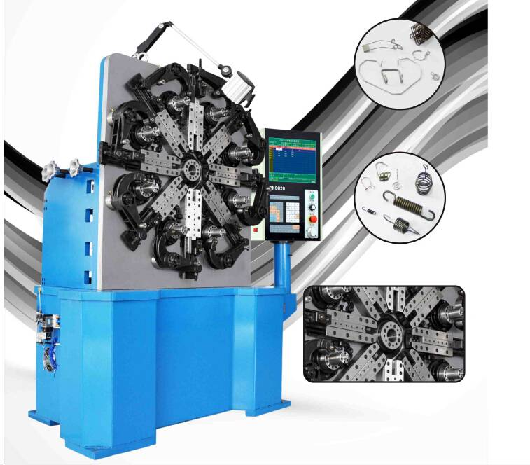 High performance GH-CNC580 5-axis compression spring machine