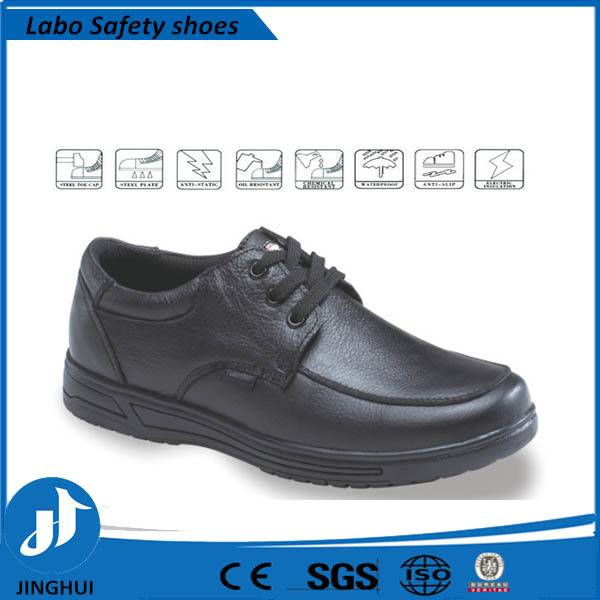 Hot selling Genuine Leather steel toe safety shoes