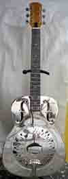 Handwork brass body resonator guitar