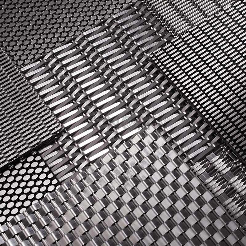 Elevator Wall Wire MeshCustom Decorative Woven Mesh Elevator Wall Wire Mesh Factory