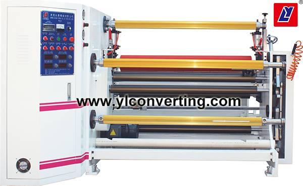 YL-406 High speed laminating and slitting machine