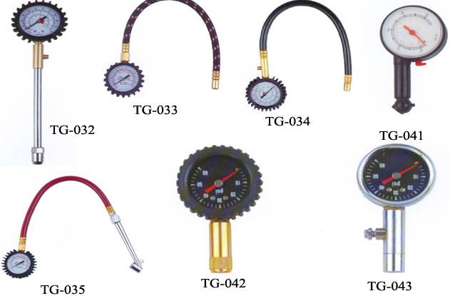 dial tire pressure gauges/car gauge/tyre gauges