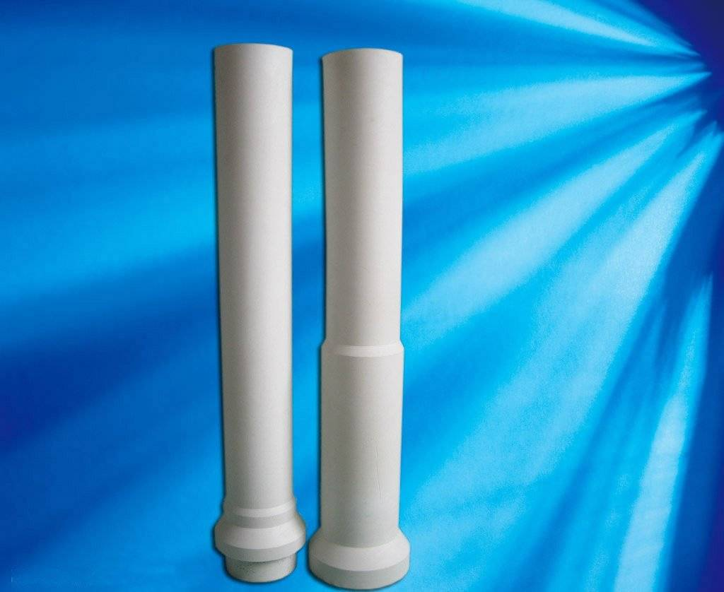 aluminum titanate riser tube for low pressure die casting
