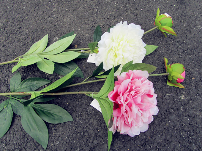 Cheap Wholesale High Quality Peony Artificial Flowers For Home Decoration