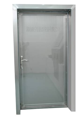 x-ray protective Manual Hinged Door with One Leaf