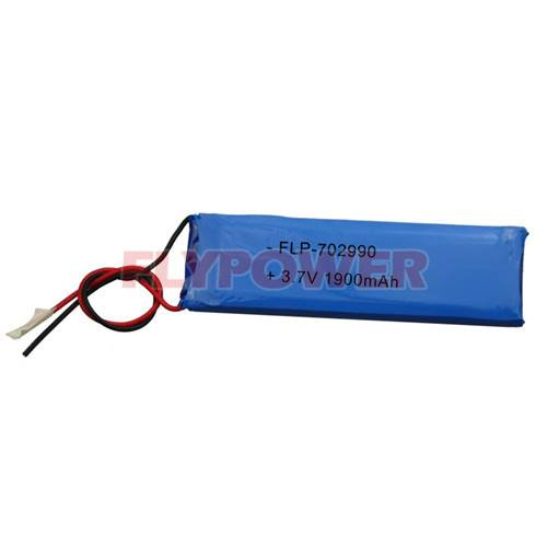 Lithium Battery 3.7V 1900mAh Rechargeable Battery Pack