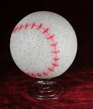 EVA&LED decorative ligts,Baseball Table Lamp
