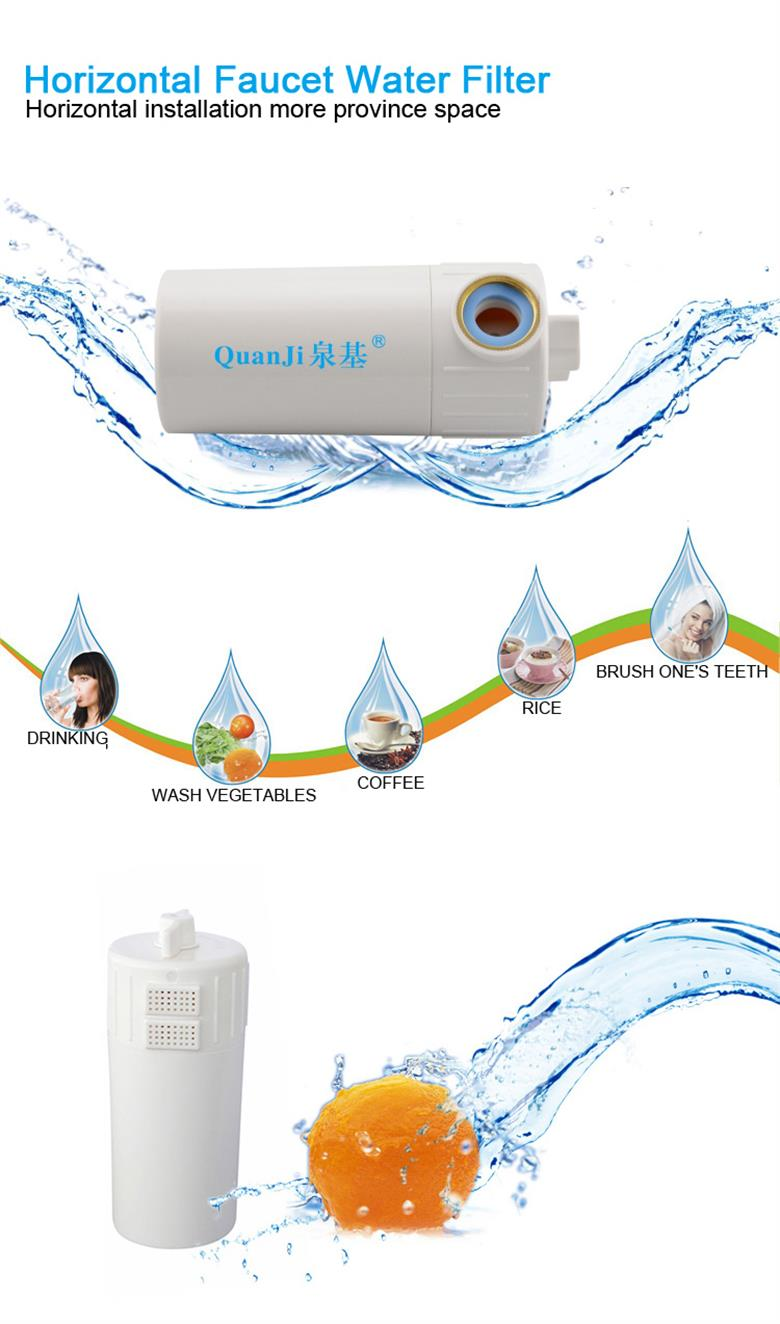 Home kitchen horizontal faucet water filter OEM