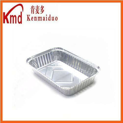 RFF211 aluminum foil food packing rectangle container