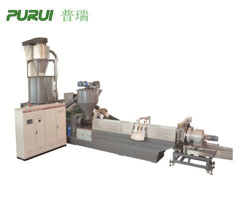 plastic pelletizing process pelletizing machine with forced feeding
