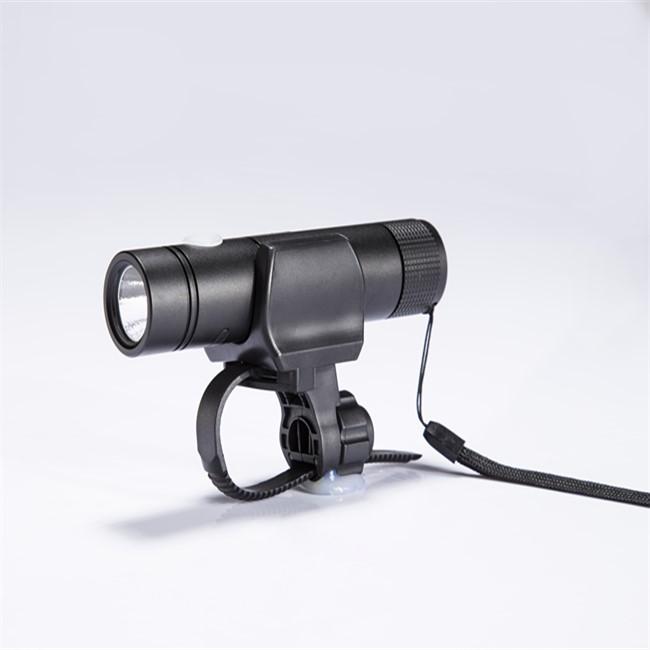 360° rotation bicycle flashlight holder