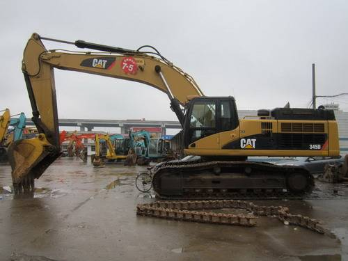 Used Cat 345D Excavator, Used Caterpillar Excavator 345D for Sale