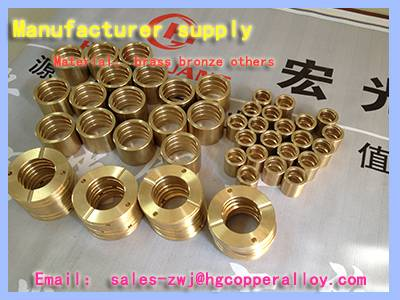 brass threaded bolt sleeve