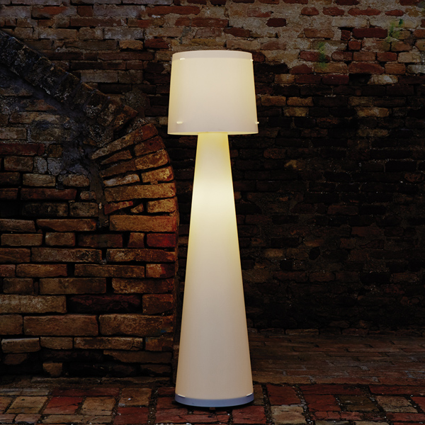 Emporium Lighting Solutions Floor lamp in white pearl polypropylene DIVA
