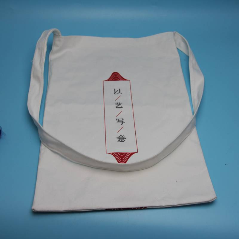 customzied size cotton tote shopping bag with logo printed