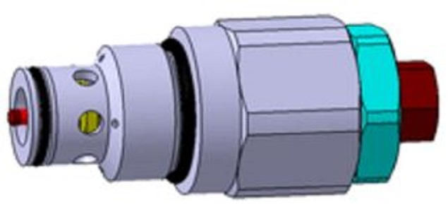 Relief Valve for Excavator's MCV(DMV380)
