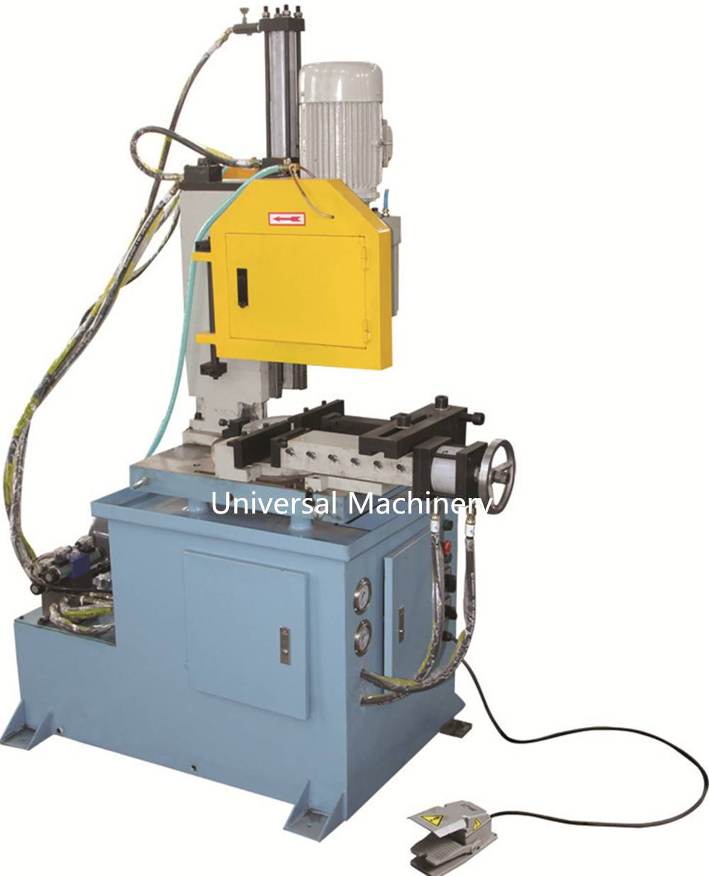 China manufacturer hydraulic semi automatic Pipe Cutting Machine