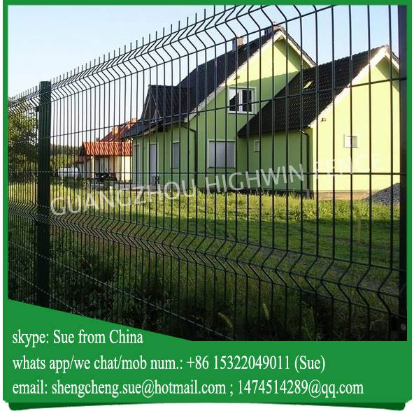 Cheap price galvanized fencing front yard fence