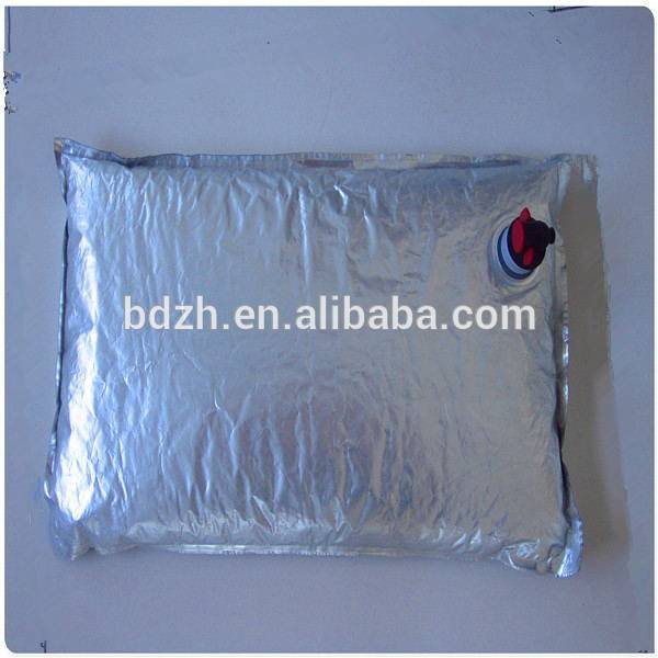 china supplier valve bag in box/wine bib/liquid package