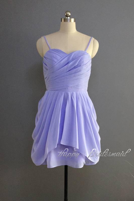 Lavender Short Sweetheart Bridesmaid Dress, Prom Dress, Homecoming Dress, Wedding Party Dress