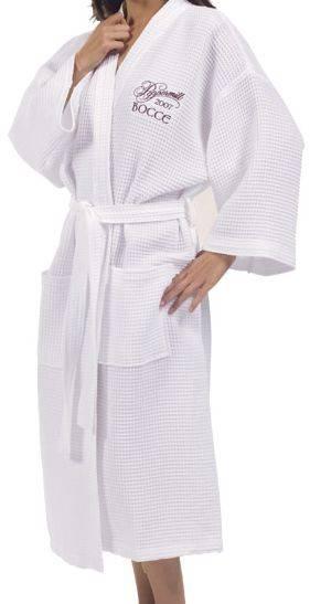 Pique Bademantel Kimono