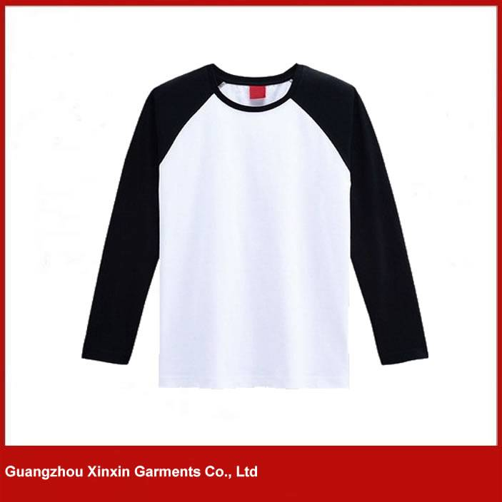 Custom fashion design long sleeves raglan t shirts for men and women
