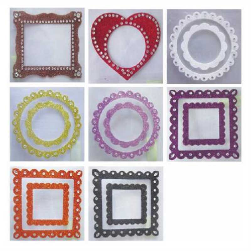 Tianying exquisite acrylic stickers shape photo frame stickers