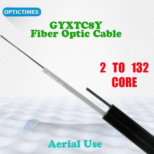 Supply steel wire armored Optical Fiber Cable 8-like fiber cables GYXTC8Y(S)