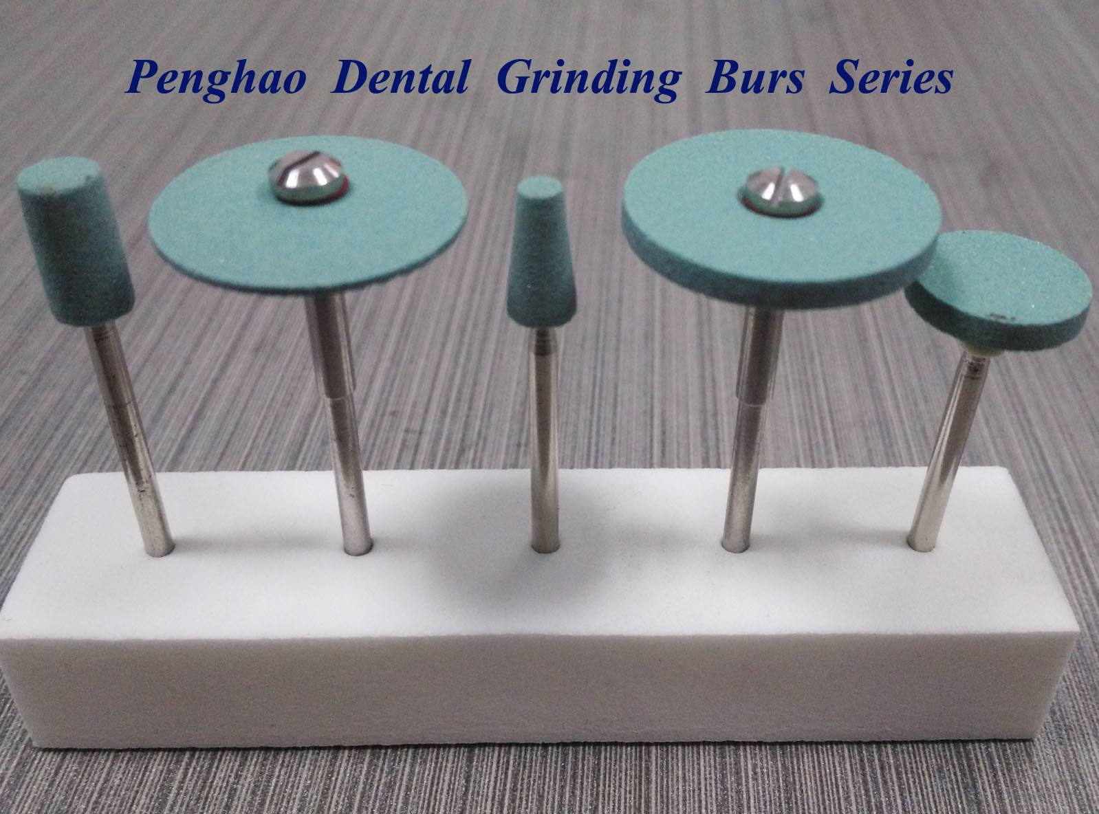 Dental grinding & polishing burs for zirconia brown & bridges