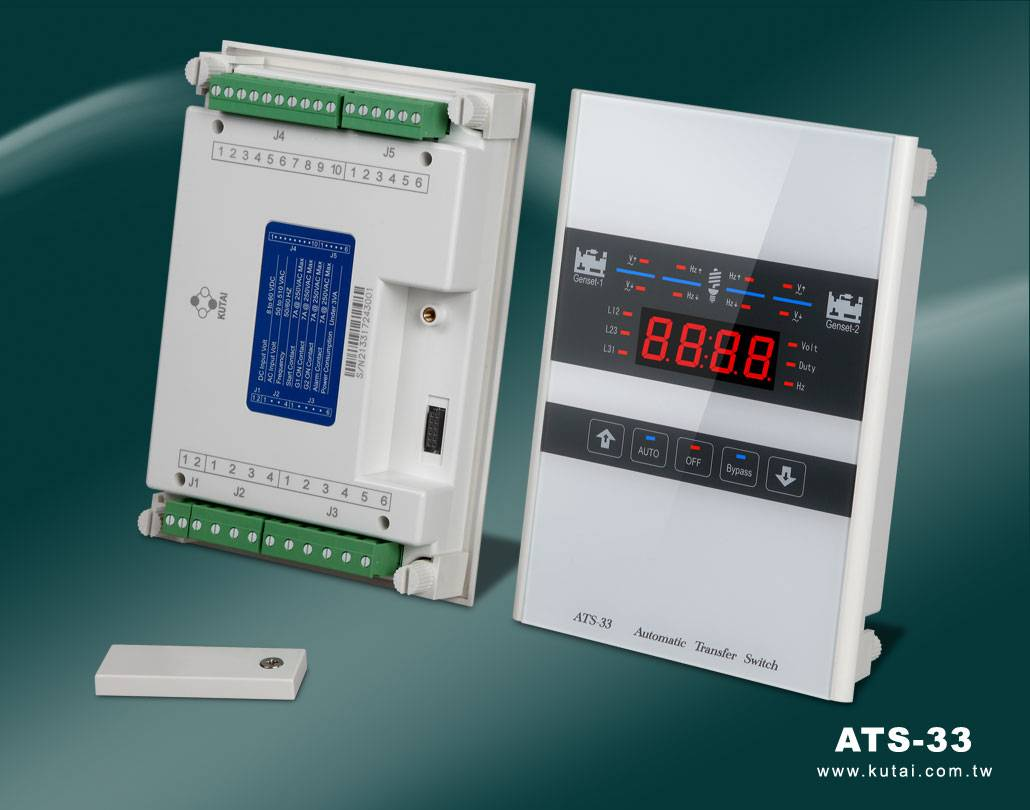 ATS-33 Automatic Transfer Switch Controller for Dual Gensets