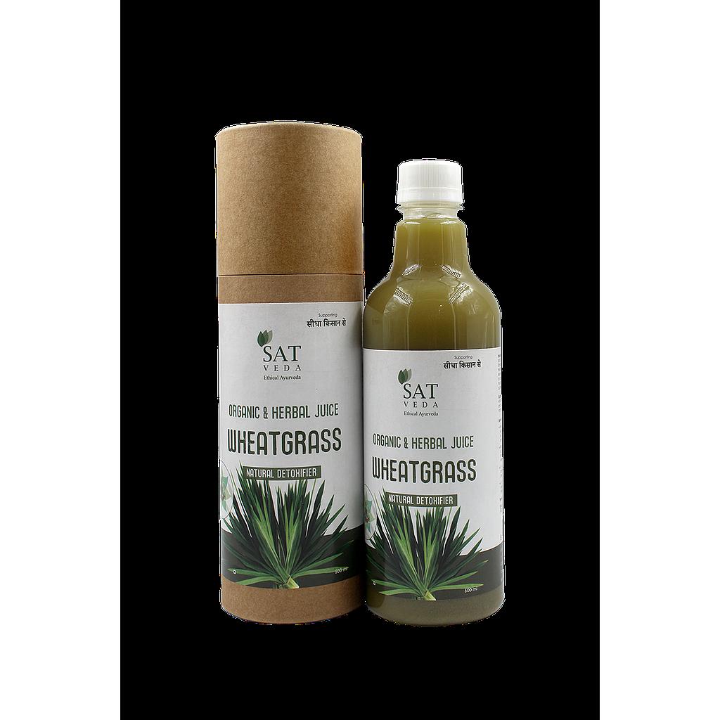 SAT VEDA Natural Wheatgrass Juice 500ml
