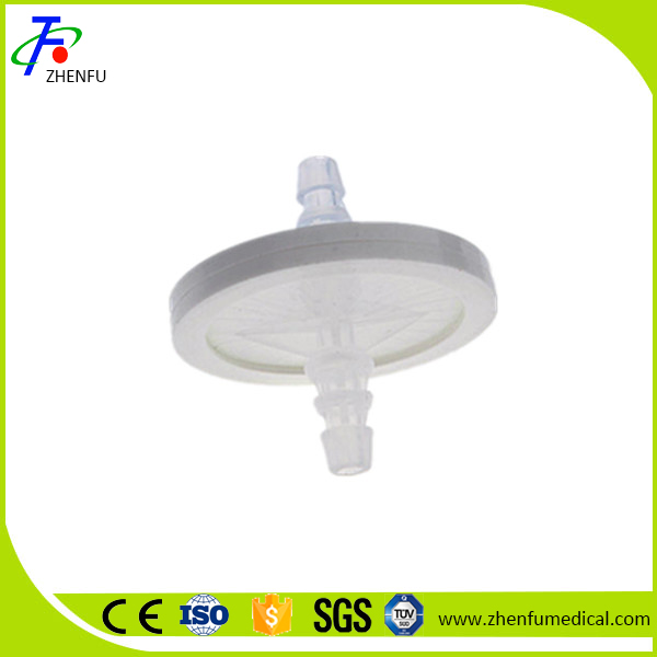 Hydrophobic bacteria filter