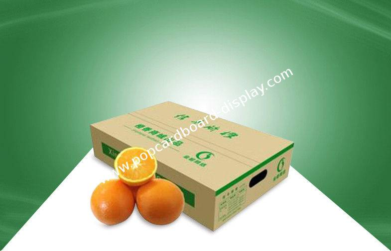 100% Eco - friendly Corrugated Carton Boxes Paper Shipping Box for Fruits Packing
