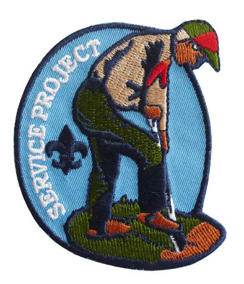 Scouting Department Patch