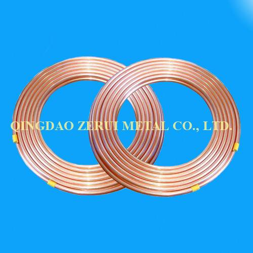 R410A Standard Refrigeration Pancake Coil Copper Pipe