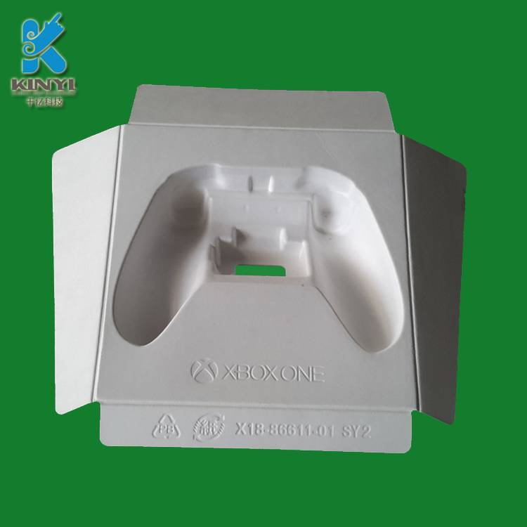 Biodegradable customized play controler pulp