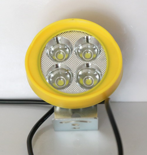 LED Lamp with fans