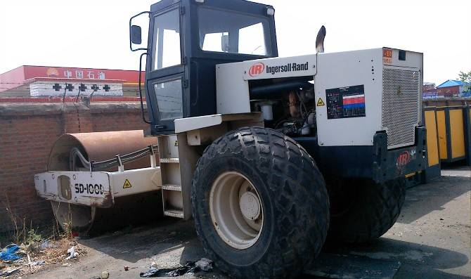 Used Ingersoll Rand SD100d Roller, Used Vibratory Roller, Compactor