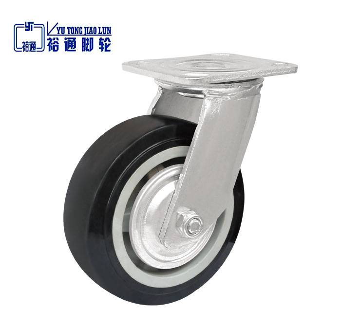 Black TPU Industrial Casters